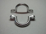 "Tie Ring, Aluminum w/ 4"" Bolt Centers (HIGHLY POLISHED)"