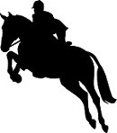 Hunter-Jumper Horse Reflective Decal