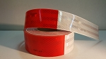 Red and White Reflective Tape, By 3M- *Sold by the 18