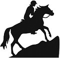 Endurance Horse Mountain Climbing Reflective Decal