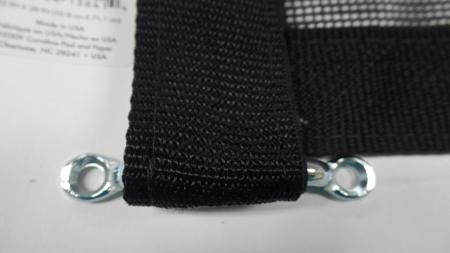 Zippered Trailer Safety Screen Custom Sewn New Screens