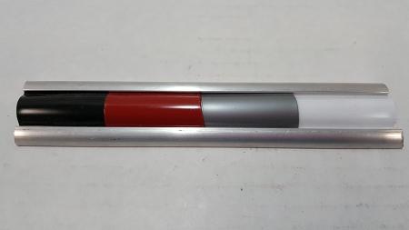 Slot Molding Aluminum Trim- choose Even or Uneven lip