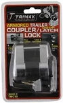 TriMax Door Hasp or Coupler Lock w/ 3/4 inch Span