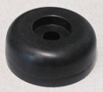 XL Round Rubber Door Stop, 3 In. Wide (for ramps)