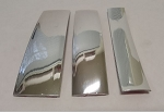 Decorative Chrome Trim, Self-Adhesive - in 3 widths, Sold By The Foot