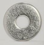 Washer, #12 or #14 X 1 inch Diameter, Zinc or Stainless Steel