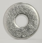 Washer, #12 or #14 X 1 1/4 inch Diameter, Zinc or Stainless Steel