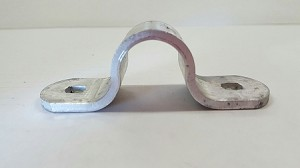 Cam Latch Pipe Holder, Top, Aluminum