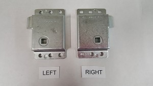 Slam Latches, choose from RIGHT or LEFT