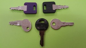 Assorted Replacement Trailer Keys