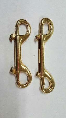 Double-Ended Snap, in Brass