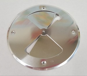 Round Aluminum Butterfly Vent