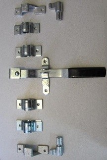 Cam Latch System, STEEL- for Doors