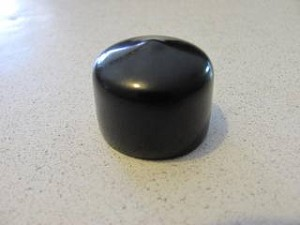 "Vinyl End Cap for 3/4"" ID Pipe"