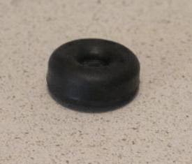 EXTRA-SMALL Round Rubber Door Stop