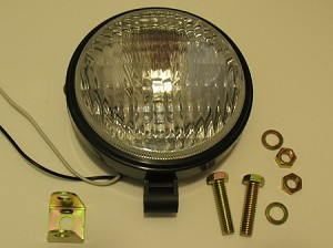 Exterior  Utility Light, Round HALOGEN