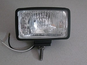 Exterior Utility Light, Square HALOGEN