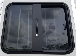 NEW! Drop-Down Feed Door Windows, MUSTANG SERIES - in 3 sizes