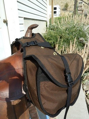 DAY SADDLE BAG  by Garden Horse Upholstery