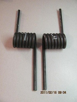"Ramp Assist Springs, HINGE MOUNT for 2"" OD Shaft"