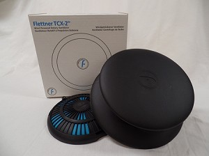 Flettner Ventilator TCX-2  Round Base, BLACK