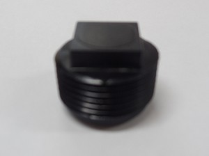 Water Caddy Replacement Plug, Black
