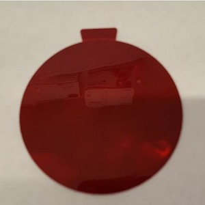 RED Duplicate Tail-Light Reflector, Self-Adhesive