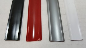 Vinyl Slot Molding Insert, 4 Colors